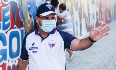 Enderson Moreira, técnico do Fortaleza