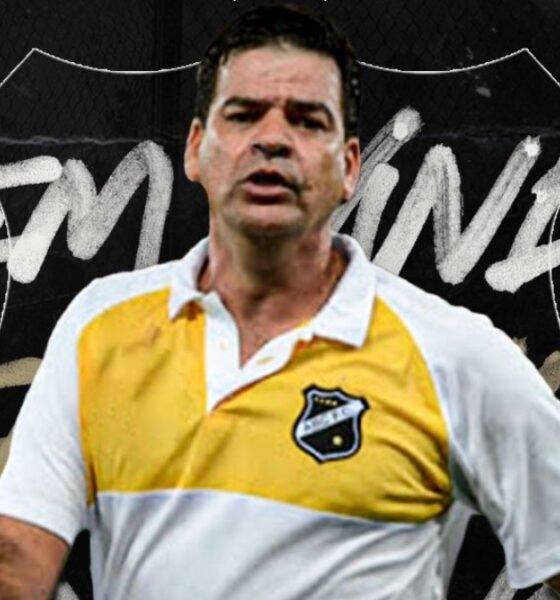 Moacir Júnior, novo técnico do ABC